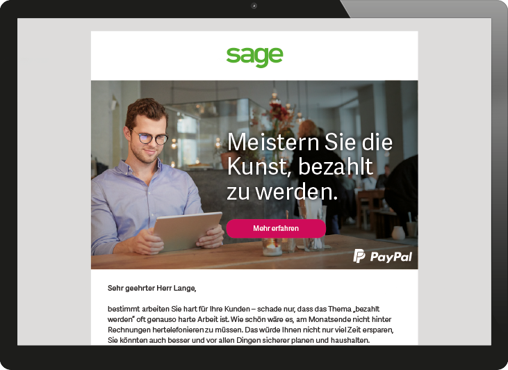 sage customer journey