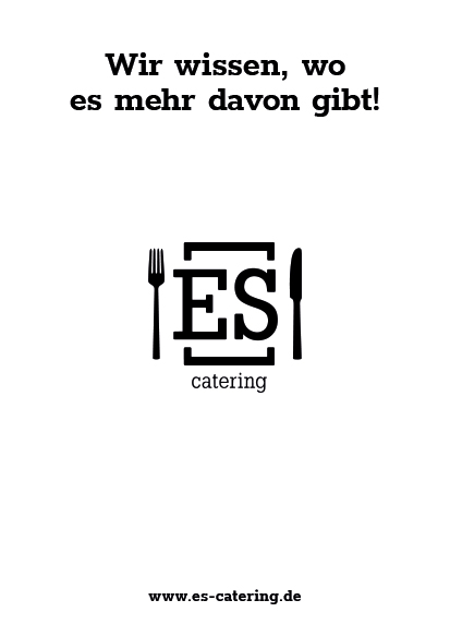 ES Catering Poster