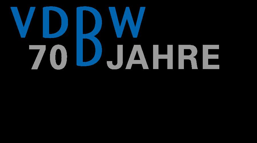 VDBW 70 Jahre Logo