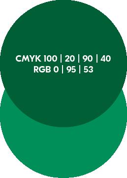 Windenergie Sekundärfarbe dunkelgrün Logoentwicklung