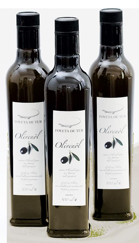 Foyeta de Tur Olivenöl